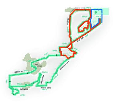 boston marathon 2011 route map. kalamazoo marathon course map.