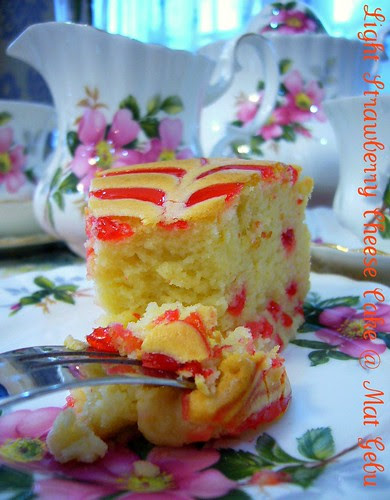 Light Strawberry Cheese Cake