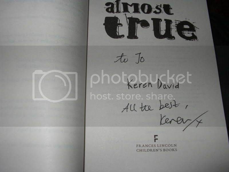 signed almost true by keren david