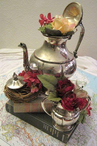 Teapot Centerpieces Cheap As For Fabulous Wedding Candles