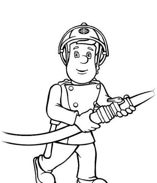 feuerwehrmann sam malvorlage bunt  malvorlagen