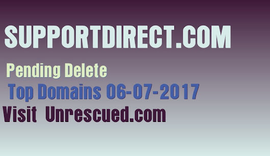Unrescued Domains | Domain Names