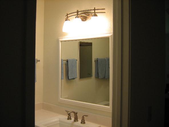 San Diego bathroom lighting   IdealSVC