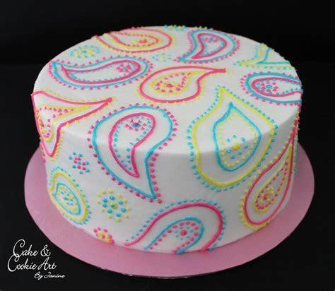 Best 25  Paisley cake ideas on Pinterest   1st birthday