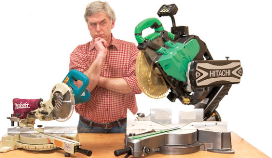 What is the right way to use a compound miter saw?
