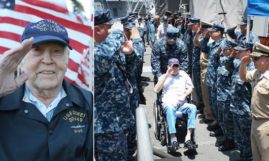 Navy honors dying wish of sailor who survived Pearl Harbor