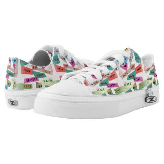 Textings and Sayings Sneakers Printed Shoes