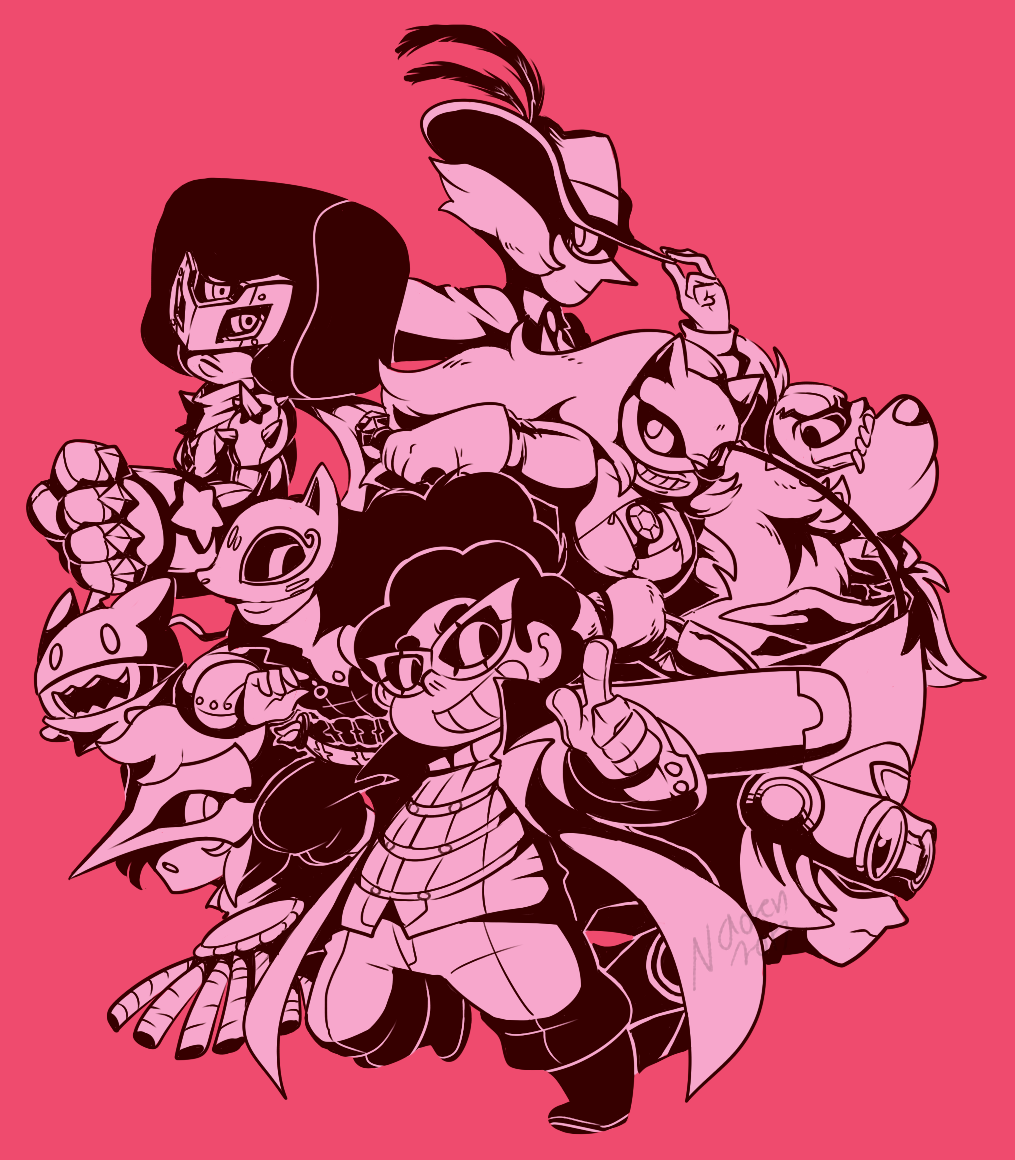 They're here to steal your GemsHeart~!