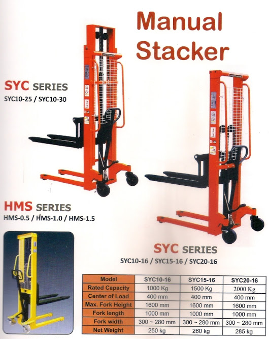 HAND STACKER MANUAL