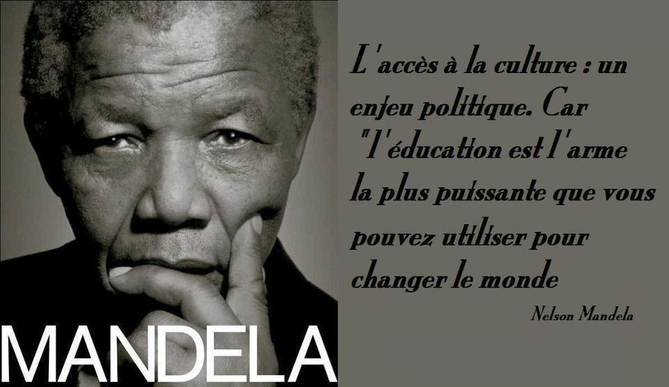 Citation Echec Mandela