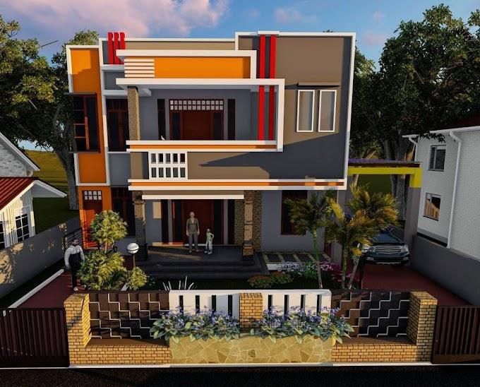 Kombinasi Warna Rumah Minimalis Tampak Depan | Ide Rumah Minimalis