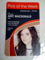 Starbucks iTunes Pick of the Week - Amy MacDonald - Run