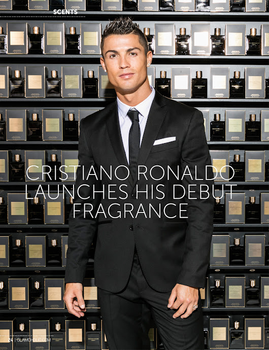 Glamoholic.com | Cristiano Ronaldo Launches His Debut Fragrance