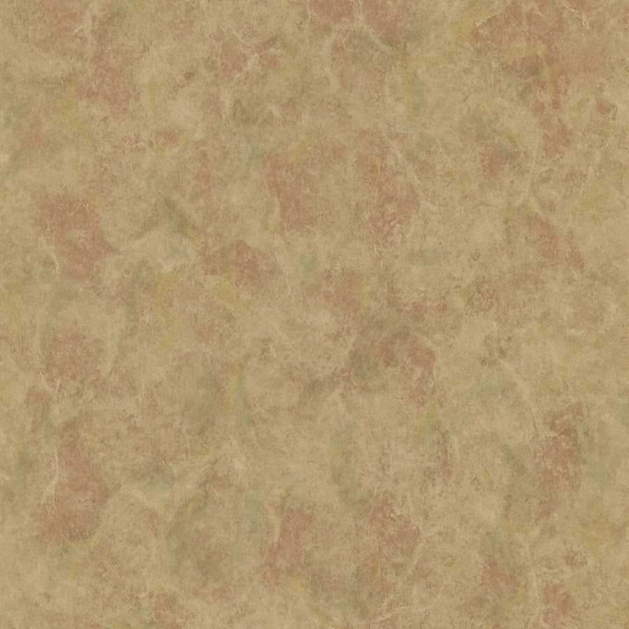 Shop Brewster Wallcovering Brown Peelable Vinyl Prepasted