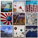 Tangled Textiles, challenge 4: Look Up