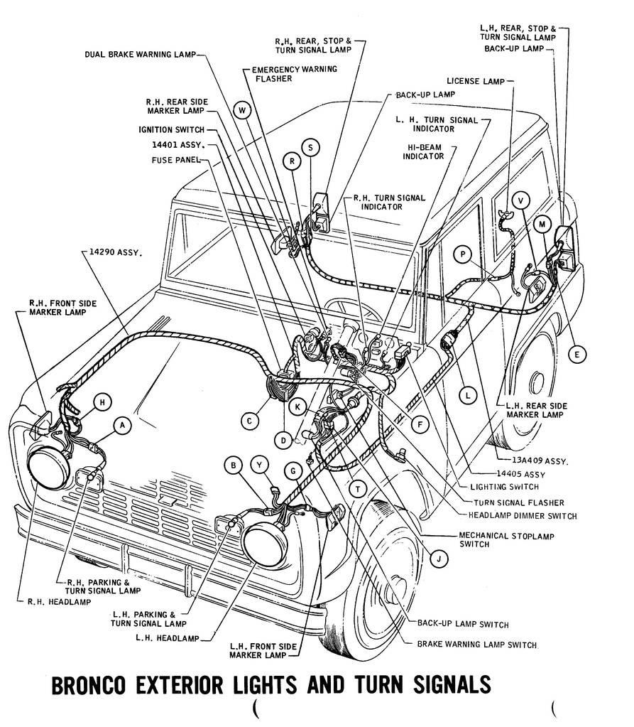 Ford Bronco Wiring Harnes Diagram