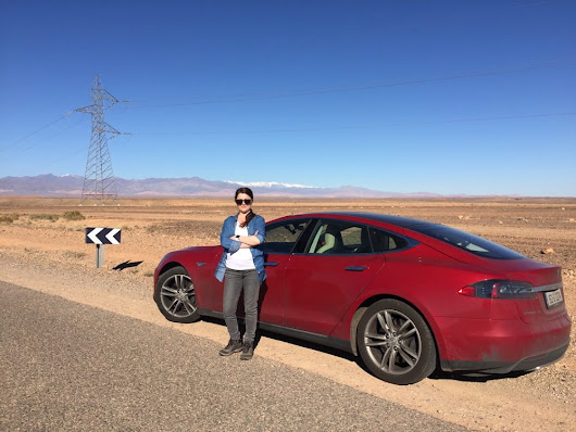 Is this the ultimate Tesla roadtrip?