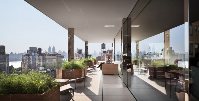 city loft terrace