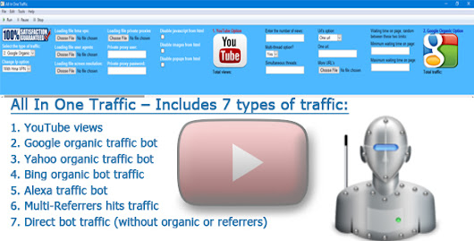 Download All In One Traffic Bot – Includes 7 types of traffic cracked nulled | OXO-NULLED