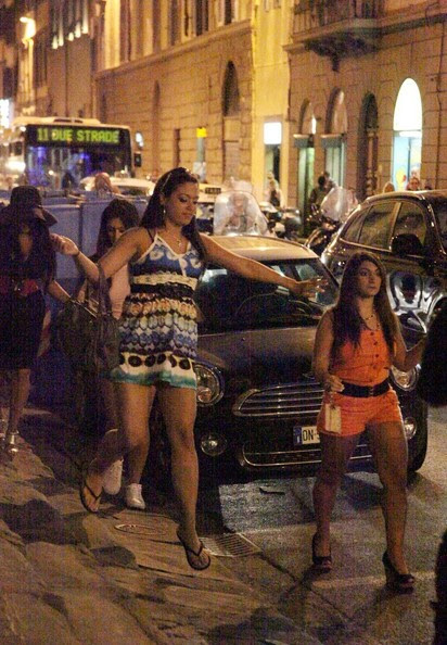 jersey shore girls in italy. #39;Jersey Shore#39; Girls Go to a