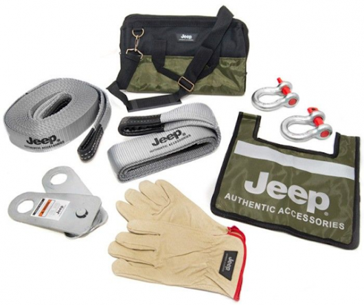 My Jeep recovery gear | AZoffroading.com