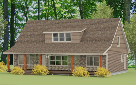 Custom Modular Home Renderings