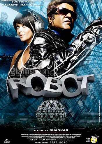 Robot 2010 Hindi 480P BrRip 500MB, Robot 2010 Hindi movie 480p brrip bluray 300mb free download 400mb dvd or watch online at world4ufree.ws