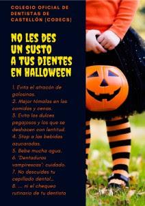 Campaña de sensibilización lanzada en Halloween.