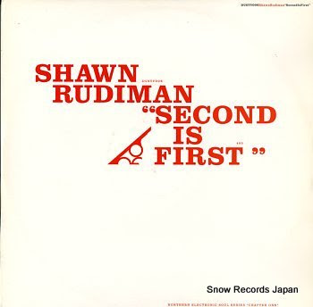 RUDIMAN, SHAWN second is first