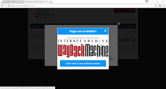 Internet Archive Launches Chrome Extension That Replaces 404 Pages With Archived Copies