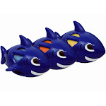 Multipet 51110 Multiarmor Shark Dog Toy