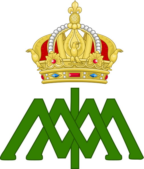 File:Imperial Monogram of Emperor Maximilian I of Mexico.svg