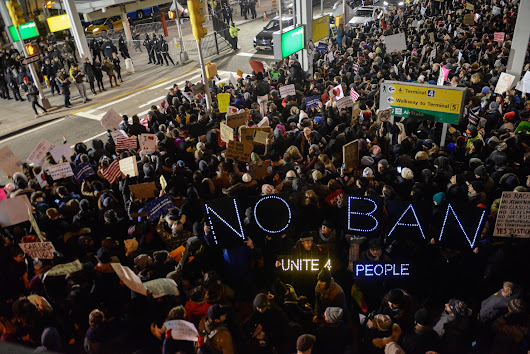 Judge halts deportations as refugee ban causes worldwide furor