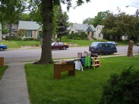 Time for a Garage Sale!