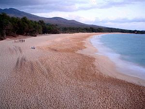 Makena Beach Maui. Taken on a 13 second exposu...