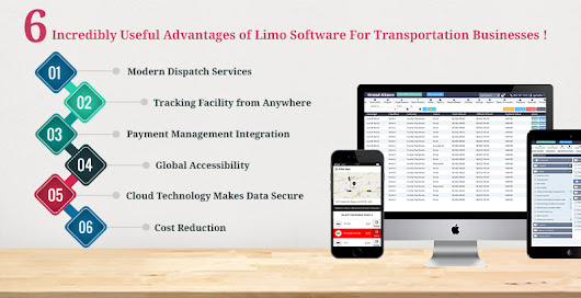 6 Incredibly Useful Advantages of Limo Software For Transportation Businesses