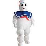 Ghostbusters Inflatable Stay Puft Marshmallow Man Child Costume