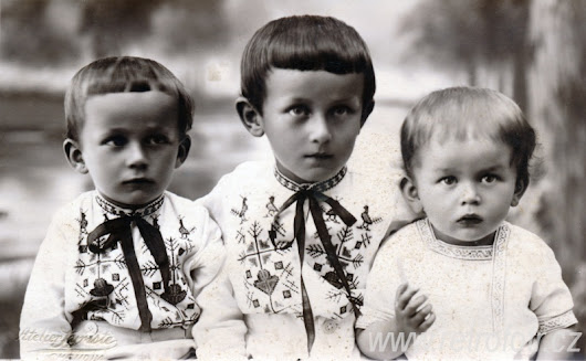 Czech Children of the Early 19th Century
