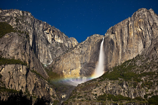 2018 Yosemite Moonbow Predictions