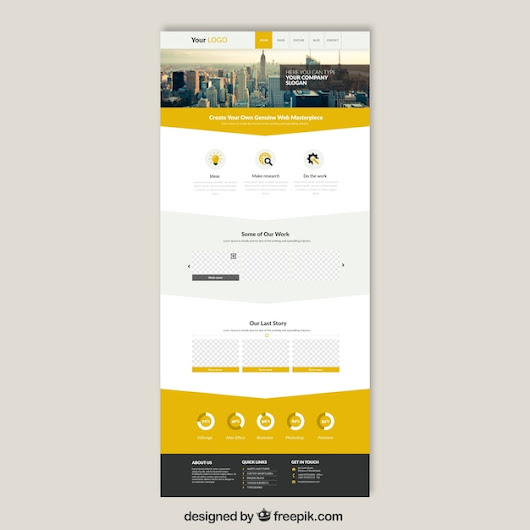 Skyscrapers website template