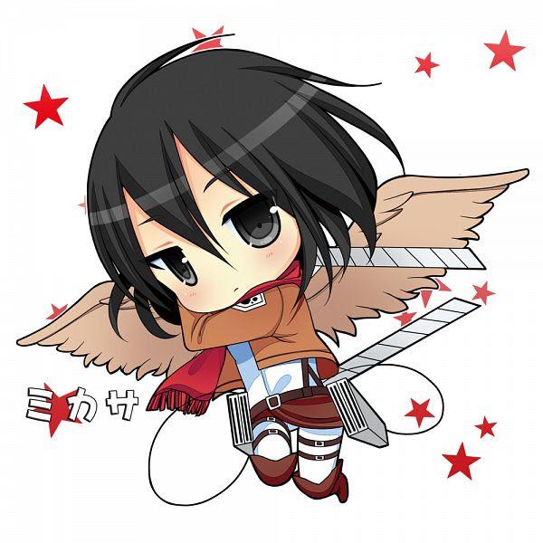 Chibi Mikasa Ackerman Mikasa Ackerman Fan Art 36803305 Fanpop
