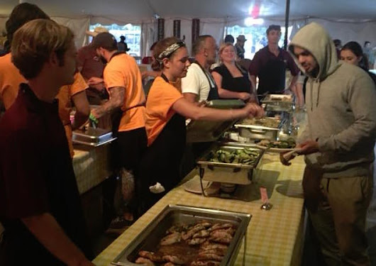 San Luis Obispo Catering Company Feeds The Crew At Lightning In A Bottle Festival