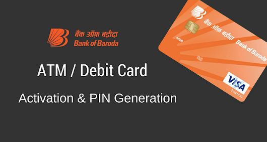 Bank of Baroda ATM Card Activate/PIN Generate Kaise kare? - AskmeHindi