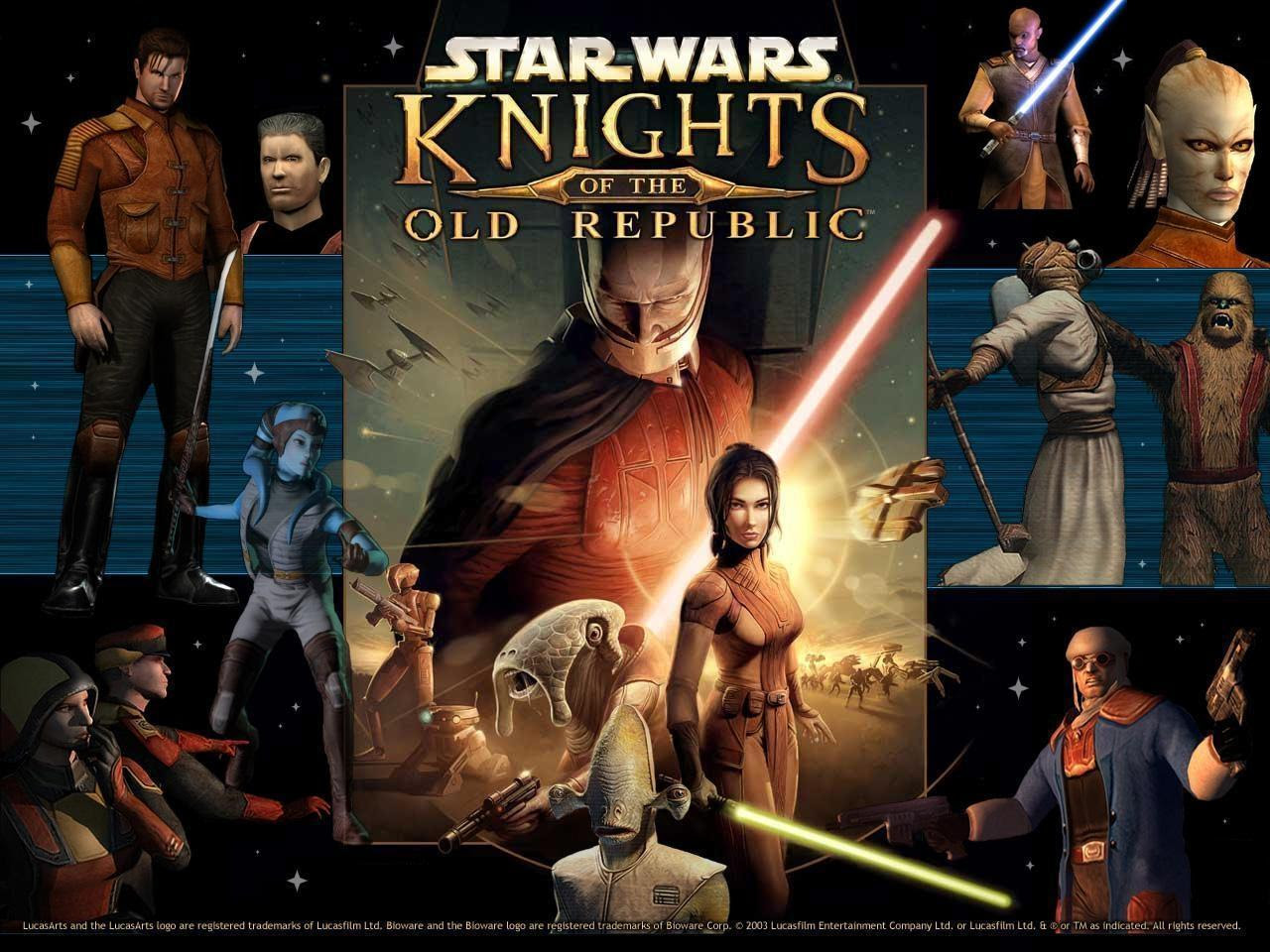 Knights Of The Old Republic Star Wars Wallpaper 9368710 Fanpop