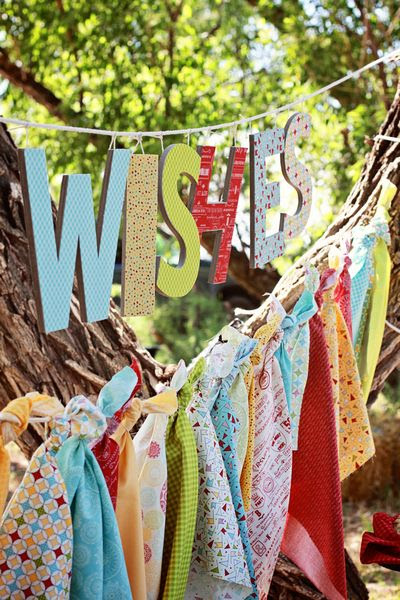 Wishes Fabric Collection by Sweetwater for Moda Fabrics Fabric Bunting