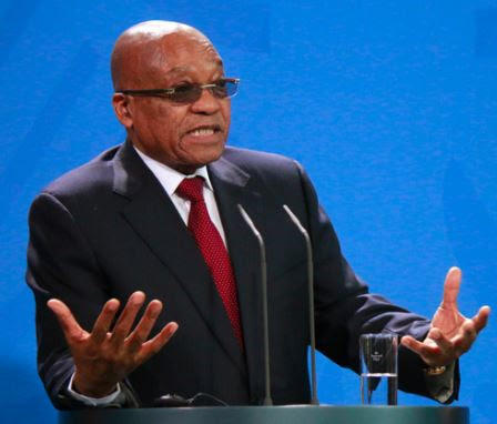 South African President Jacob Zuma blames 'witchcraft' for his party's recent failure