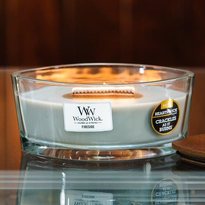 Woodwick Hearthwick Crackle Candles - Harrod Horticultural