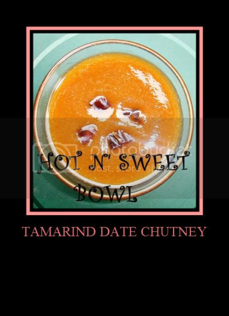 Date Tamarind Chutney