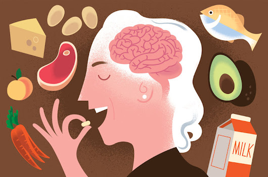 Vitamin B12 as Protection for the Aging Brain!