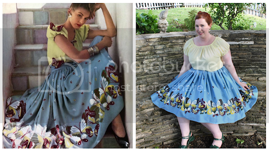 Sewing Project: The Butterfly Skirt
